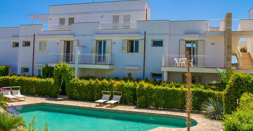 In vendita app. Lucrezia con piscina a S.M. al Bagno